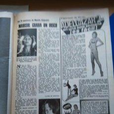 Coleccionismo de Revistas y Periódicos: RECORTE PEPA FLORES MARISOL. Lote 54873502