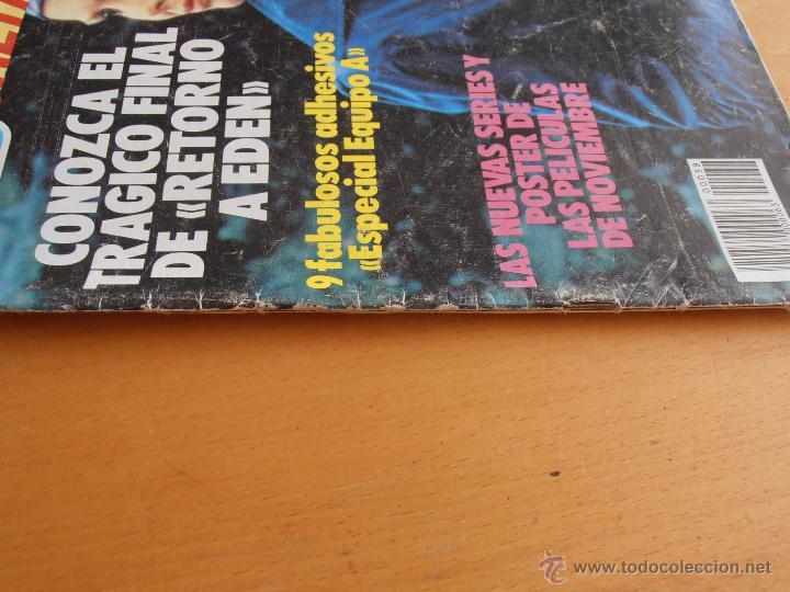 Coleccionismo de Revistas y Periódicos: REVISTA TELEINDISCRETA Nº 38 MR. T EQUIPO A GNOMOS TELE-INDISCRETA - Foto 2 - 51425692