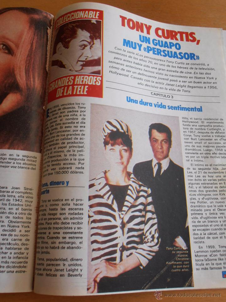 Coleccionismo de Revistas y Periódicos: REVISTA TELEINDISCRETA Nº 38 MR. T EQUIPO A GNOMOS TELE-INDISCRETA - Foto 5 - 51425692