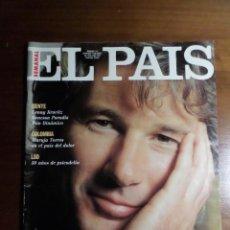 Coleccionismo de Revistas y Periódicos: EL PAÍS SEMANAL Nº112: RICHARD GERE, EL DÚO DINÁMICO, LENNY KRAVITZ, VANESSA PARADIS.. Lote 51428135