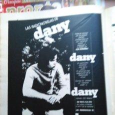 Coleccionismo de Revistas y Periódicos: RECORTE DANY. Lote 51436066