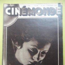 Colecionismo de Revistas e Jornais: CINÉMONDE. Nº 107. AÑO 1930 ( ESTÁ EN FRANCÉS ). Lote 51463680
