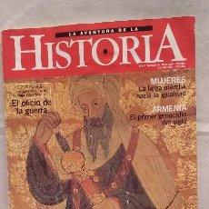 Coleccionismo de Revistas y Periódicos: REVISTA LA AVENTURA DE LA HISTORIA - N°19 MAYO 2000. Lote 51465465