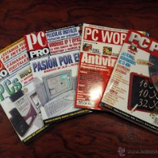 Coleccionismo de Revistas y Periódicos: LOTE REVISTA PC PLUS, PC WORLD, PC PRO. Lote 51474140