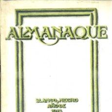 Coleccionismo de Revistas y Periódicos: ALMANAQUE BLANCO Y NEGRO 1913. Lote 51486307