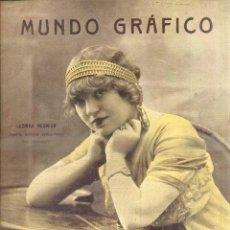 Coleccionismo de Revistas y Periódicos: MUNDO GRÁFICO Nº 119 - 4 FEBRERO 1914 - LUCINDA REGNIER EN PORTADA. Lote 51486559