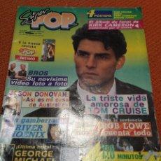 Coleccionismo de Revistas y Periódicos: SUPER POP 310 FEBRERO 1990 TOM CRUISE- GEORGE MICHAEL ETC. Lote 51513502