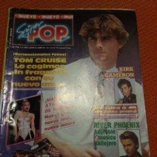 Coleccionismo de Revistas y Periódicos: SUPER POP 317 MAYO 1990 TOM CRUISE- MADONA-KIRK CAMERON-RIVER PHOENIX ETC... Lote 51513540