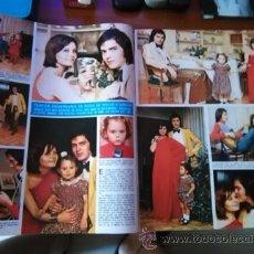Coleccionismo de Revistas y Periódicos: RECORTE ROCIO DURCAL JUNIOR ANTONIO MORALES. Lote 51520564