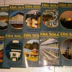 Coleccionismo de Revistas y Periódicos: LOTE DE 21 REVISTAS VARIADAS ERA SOLAR, BIMENSUAL EN MADRID ENTRE 1992 Y 1997. Lote 51523235