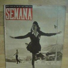 Coleccionismo de Revistas y Periódicos: SEMANA Nº 159 - MARZO DE 1943 - BUQUES FRANCESES HUNDIDOS EN TOLON. Lote 51543026
