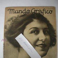 Coleccionismo de Revistas y Periódicos: REVISTA MUNDO GRAFICO - AÑO XIIV - Nº 661 - DEL 2 DE JULIO DE 1924 -. Lote 51542475