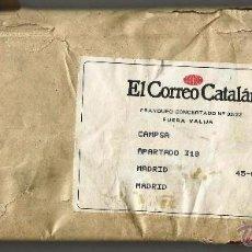 Coleccionismo de Revistas y Periódicos: PERIÓDICO EL CORREO CATALÁN -12 DE JULIO DE 1982- SIN ABRIR.. Lote 51544546