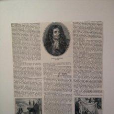 Coleccionismo de Revistas y Periódicos: REPORTAJE DE REVISTA ORIGINAL 1915 SOBRE JUAN LA FONTAINE. Lote 51592867