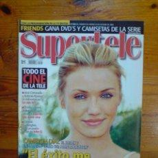 Coleccionismo de Revistas y Periódicos: SUPERTELE Nº 656, OCTUBRE 2004. CAMERON DÍAZ, DENZEL WASHINGTON, JOSÉ CORONADO, JAÉN. NUEVA. Lote 51603720