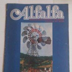 Coleccionismo de Revistas y Periódicos: REVISTA ECOLOGICA ALFALFA N° 2 DICIEMBRE 1977. Lote 51608813