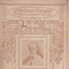 Coleccionismo de Revistas y Periódicos: ED. ILUSTRACIÓ CATALANA Nº 332 - JOAQUIM RUBIÓ I ORS : FET DE CAVALLERIA (1918?). Lote 51628088