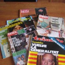 Coleccionismo de Revistas y Periódicos: LOTE REVISTAS ANTIGUAS. Lote 51647842