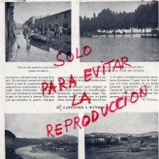 Coleccionismo de Revistas y Periódicos: MANRESA 1907 INUNDACIONES HOJA REVISTA. Lote 51658081