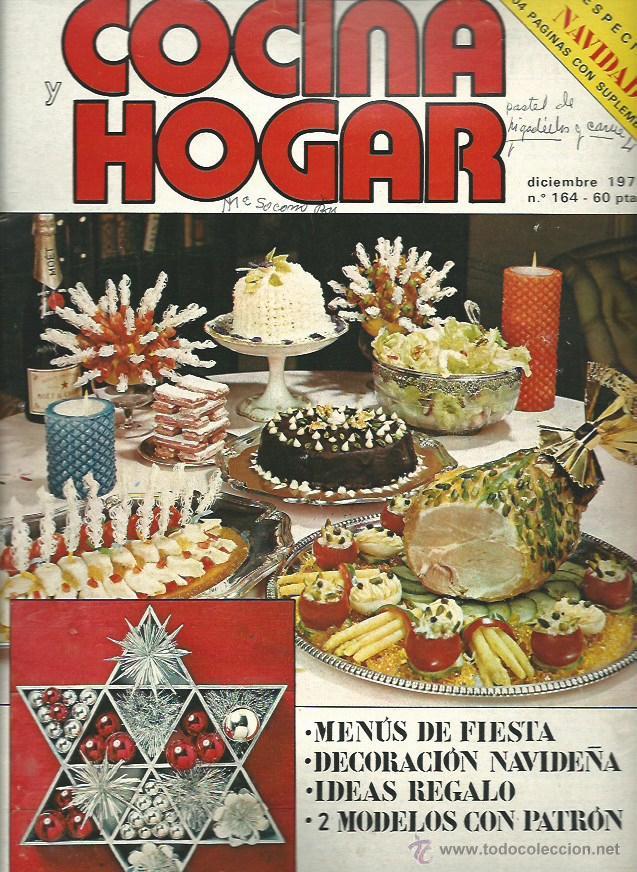 COCINA Y HOGAR Nº 164 DICIEMBRE 1976 navidad