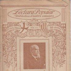 Coleccionismo de Revistas y Periódicos: ED. ILUSTRACIÓ CATALANA Nº 273 - RAMON PICÓ Y CAMPAMAR : LLENGUA Y PATRIA - 1918(?). Lote 51717462