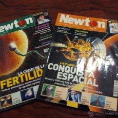 Coleccionismo de Revistas y Periódicos: LOTE REVISTA NEWTON DICIEMBRE 2000 ENERO 2001 N° 32 Y 33. Lote 51727869
