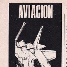 Coleccionismo de Revistas y Periódicos: ANUNCIO PUBLICIDAD INSTITUTO AMERICANO. DEPARTAMENTO DE AVIACION (1972). Lote 51747016