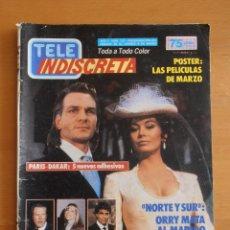 Coleccionismo de Revistas y Periódicos: REVISTA TELEINDISCRETA Nº 107 NORTE Y SUR HOTEL MARISOL TELE-INDISCRETA. Lote 51768875