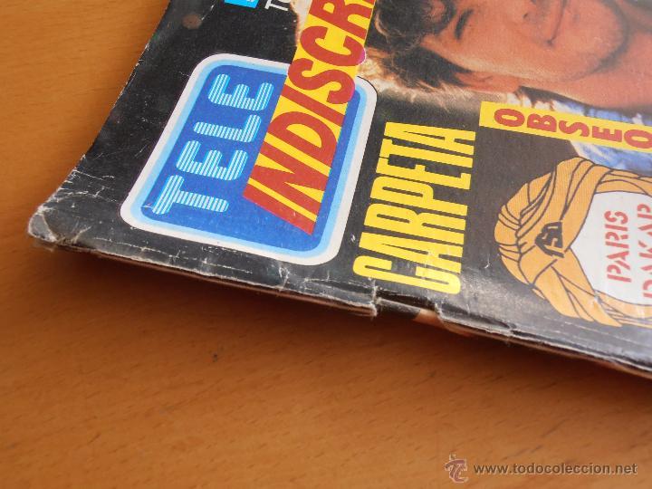 Coleccionismo de Revistas y Periódicos: REVISTA TELEINDISCRETA Nº 104 PATRICK SWAYZE ORRY MAIN EQUIPO A TELE-INDISCRETA - Foto 3 - 51769168