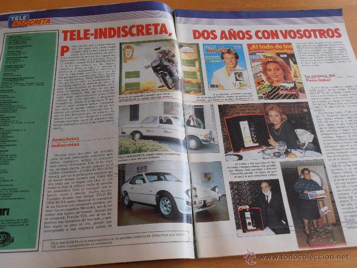 Coleccionismo de Revistas y Periódicos: REVISTA TELEINDISCRETA Nº 104 PATRICK SWAYZE ORRY MAIN EQUIPO A TELE-INDISCRETA - Foto 5 - 51769168