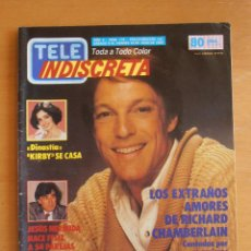 Coleccionismo de Revistas y Periódicos: REVISTA TELEINDISCRETA Nº 178 JESUS HERMIDA DINASTIA TELE-INDISCRETA. Lote 51785478