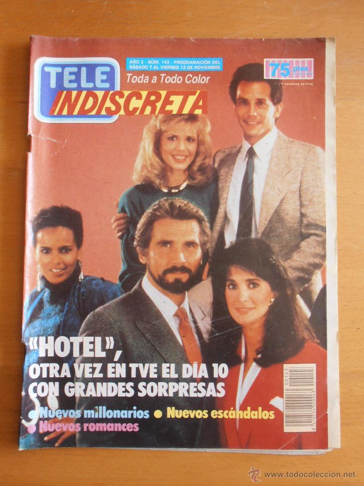 REVISTA TELEINDISCRETA Nº 143 HOTEL ANTONIO FERRANDIS TELE-INDISCRETA (Coleccionismo - Revistas y Periódicos Modernos (a partir de 1.940) - Otros)