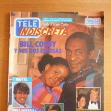 Coleccionismo de Revistas y Periódicos: REVISTA TELEINDISCRETA Nº 145 BILL COSBY DIRK BENEDICT SONIA BRAGA TELE-INDISCRETA. Lote 51799988