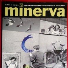 Coleccionismo de Revistas y Periódicos: REVISTA MINERVA Nº 13 . YVES KLEIN . JUDITH BUTLER . EDUARDO GALEANO . JOHN BANVILLE.... Lote 51801255