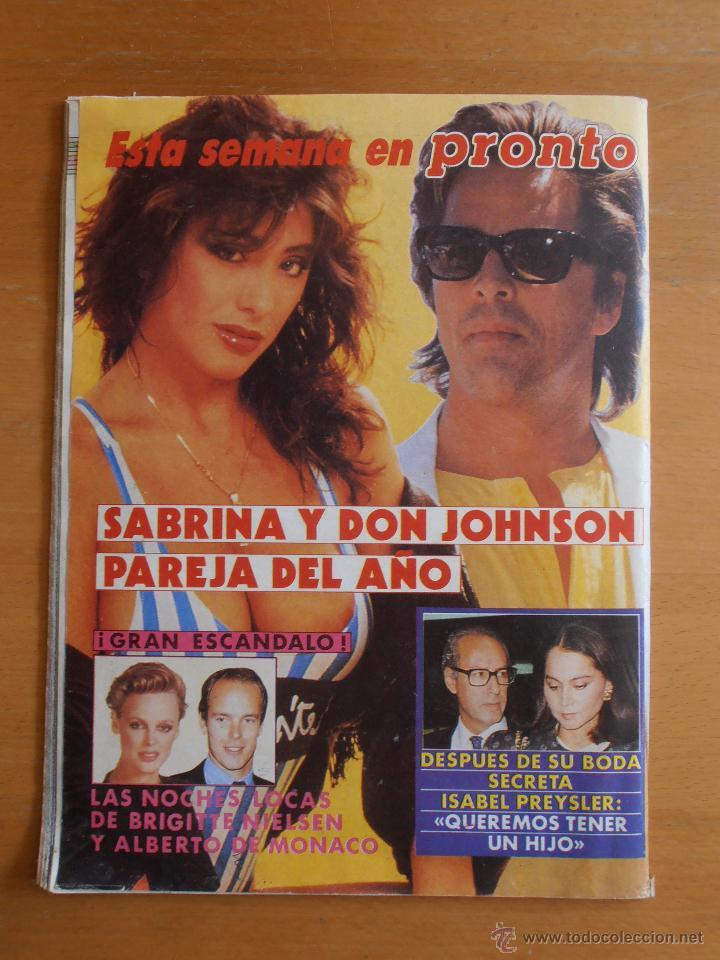 Coleccionismo de Revistas y Periódicos: REVISTA TELEINDISCRETA Nº 153 MADONNA TOM CRUISE LINA MORGAN TELE-INDISCRETA - Foto 4 - 51807994