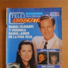 Coleccionismo de Revistas y Periódicos: REVISTA TELEINDISCRETA Nº 156 DANIEL TRAVANTI FALCON CREST TELE-INDISCRETA. Lote 51808477