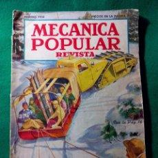Coleccionismo de Revistas y Periódicos: REVISTA MECANICA POPULAR .- FEBRERO 1950 .- POPULARS MECHANICS MAGAZINE .- Nº 2. Lote 51848624