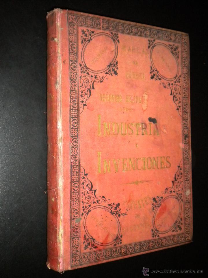 MARCAS DE FABRICA / INDUSTRIA E INVENCIONES / GERONIMO BOLIBAR / TOMO VIII / 1887 (Coleccionismo - Revistas y Periódicos Antiguos (hasta 1.939))