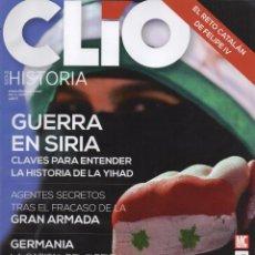 Coleccionismo de Revistas y Periódicos: CLIO HISTORIA N. 167 - EN PORTADA: GUERRA EN SIRIA (NUEVA). Lote 52400713