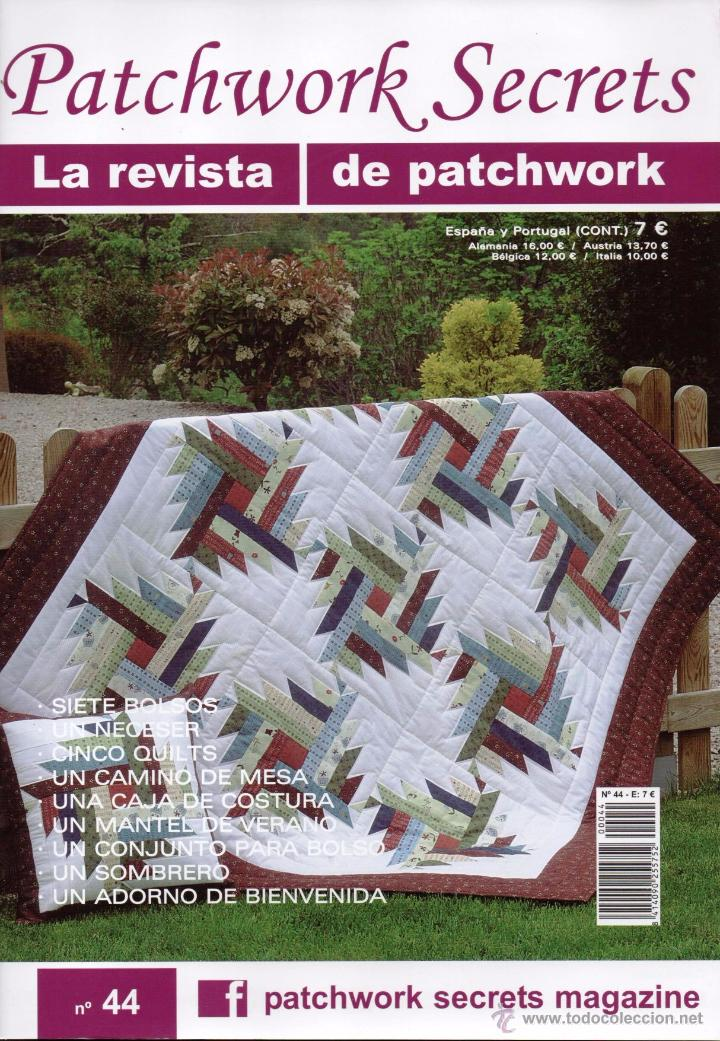 PATCHWORK SECRETS N. 44 (NUEVA) (Coleccionismo - Revistas y Periódicos Modernos (a partir de 1.940) - Otros)