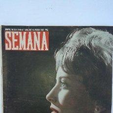 Coleccionismo de Revistas y Periódicos: ANTIGUA REVISTA SEMANA. JULIO 1959. Lote 51960023