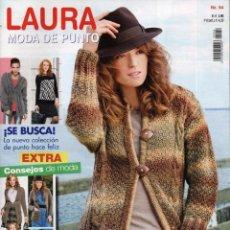 Coleccionismo de Revistas y Periódicos: LAURA MODA DE PUNTO N. 54 (NUEVA). Lote 98394530