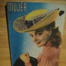 Coleccionismo de Revistas y Periódicos: MUJER Nº 128 - FEBRERO DE 1948 - REVISTA DE MODAS MENSUAL EDITADA EN SAN SEBASTIAN. Lote 51980535
