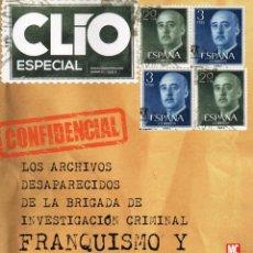 Coleccionismo de Revistas y Periódicos: CLIO ESPECIAL N. 23 - EN PORTADA: FRANQUISMO Y CLANDESTINIDAD (NUEVA). Lote 53381062