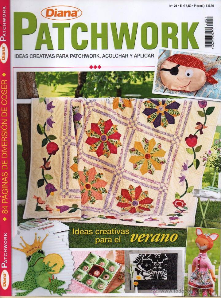 DIANA PATCHWORK N. 21 - EN PORTADA: IDEAS CREATIVAS PARA EL VERANO (NUEVA) (Coleccionismo - Revistas y Periódicos Modernos (a partir de 1.940) - Otros)