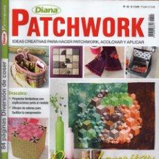 Coleccionismo de Revistas y Periódicos: DIANA PATCHWORK N. 22 - EN PORTADA: PIEZAS FAVORITAS (NUEVA). Lote 51993709