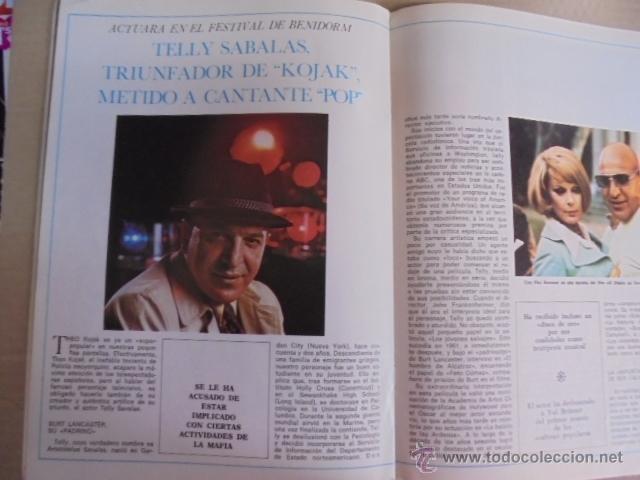 Coleccionismo de Revistas y Periódicos: DIRECTISIMO Nº 5- MANOLO ESCOBAR - 1975 - DANN - SAVALAS - MIGUEL RIOS - JOHN VALAN PUERTA - Foto 2 - 52004309