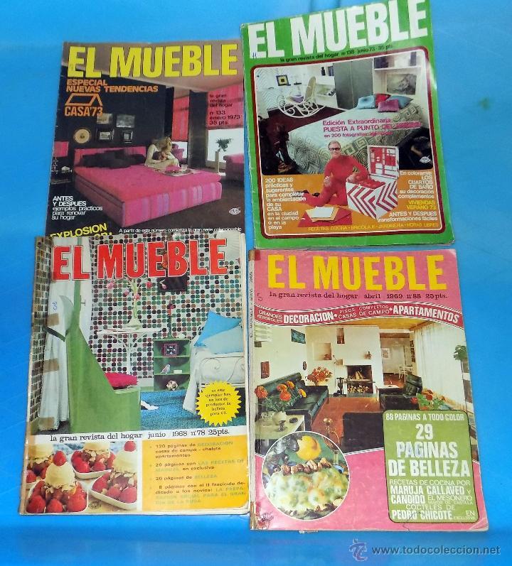 lote de revistas de decoracion el mueble aos y