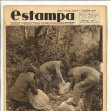 Coleccionismo de Revistas y Periódicos - ESTAMPA. REVISTA GRÁFICA 6 Octubre 1934 - 52027736
