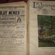 Coleccionismo de Revistas y Periódicos: ILUSTRACION IBERICA AÑO COMPLETO 1893. Lote 52028306